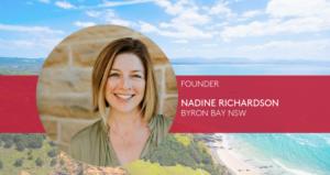Nadine Richardson Founder byron bay