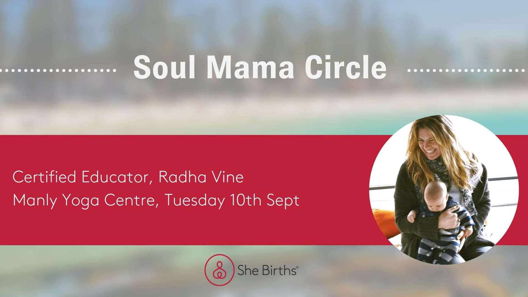 Soul Mama Circle with Radha