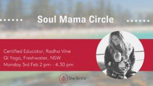 radha soul mama circle feb