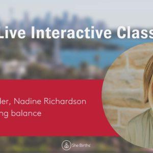 interactive course - Nadine Richardson $428