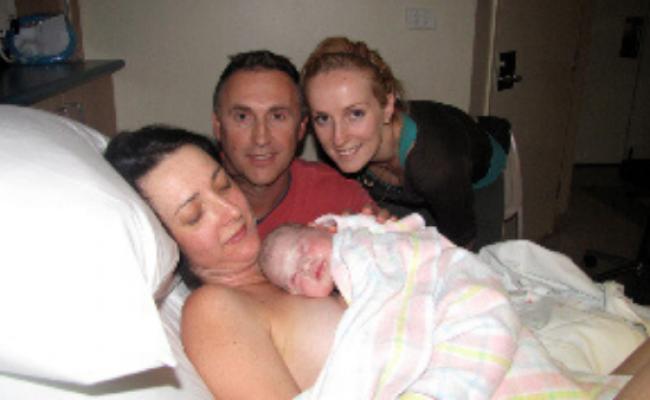 birth of zoe